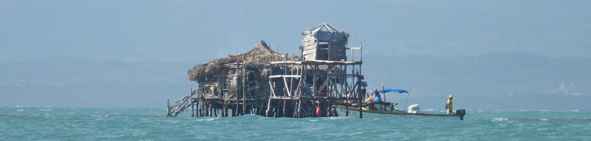 Pelican Bar mitten im Meer (auf einer Sandbank)