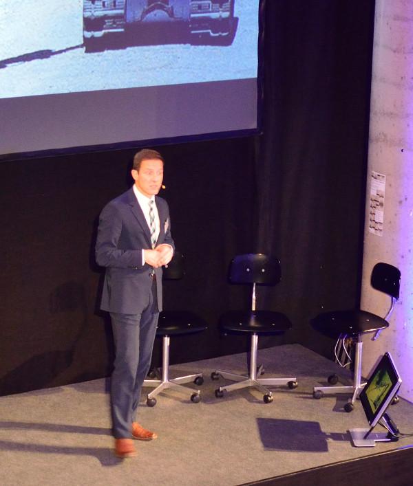 Konnte begeistern: Prof.Dr. Oliver Schocke (Fb3) zur Notwendigkeit der Automatisierung